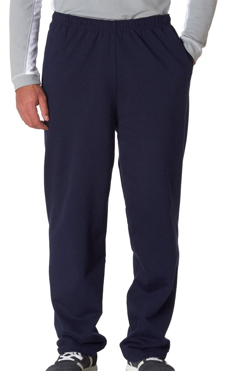 Gildan Adult Elastic Waistband Open Bottom Sweatpant