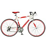 Tour De France Stage One Polka Dot Bike (Red/White, 700C X 45 cm)