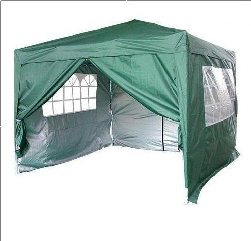 cheap backpacking tents quictent 10x10 39 ez pop up party wedding tent canopy gazebo green for. Black Bedroom Furniture Sets. Home Design Ideas