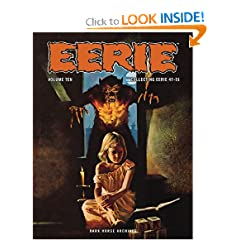 Eerie Archives Volume 10 by Doug Moench,&#32;Esteban Maroto,&#32;Bill DuBay and Steve Skeates