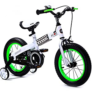 R Baby Buttons Freestyle Bmx Kids Bikes In 4 Colours - In Size 12,14,16 Inch With Heavy Duty Removable Stabilisers.