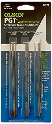 Olson Saw PG49802 Precision Ground Scroll Saw Blade by Blackstone Industries, LLC