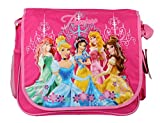 Disney Princess Large Messenger Book Bag with Water Holder