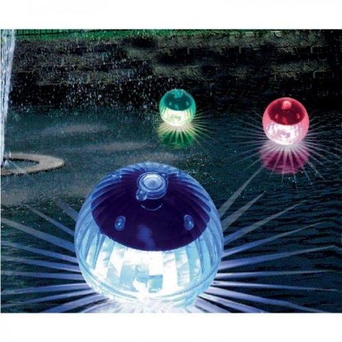 4x schwimmende Solar Beleuchtung für Teich Swimmingpool