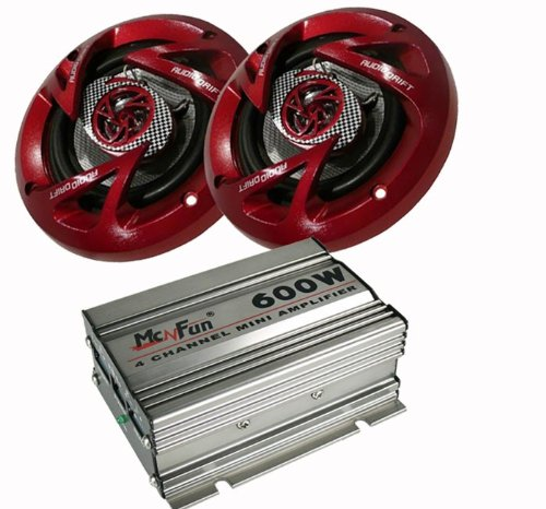 600W Auto Musikanlage Amplifier Endstufe Verstärker