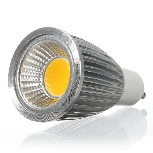 Kingso 7W Gu10 Cob Cree Led Bulb Lamp Spot Light Bulb Non-Dimmable Warm White