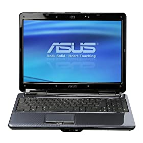 ASUS N51Vn-A1 15.6-Inch Versatile Entertainment Laptop - Silver Blue
