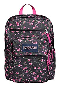 Jansport Big Student Lipstick Pink Tea Rose Ditzy TDN70AK