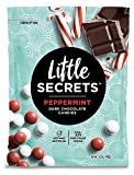 Little Secrets - Gourmet Chocolate Candy - Peppermint Dark Chocolate {5 oz., 1 Count} - The World's Most Unbelievably Delicious Chocolate Candies