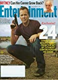 img - for Entertainment Weekly March 2 2007 - Kiefer Sutherland,24, Britney Spears, Fall Out Boy, Daniel Radliffe, Neil Patrick Harris, Christina Ricci, David Fincher (#923) book / textbook / text book