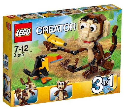 LEGO CREATOR 6 ANUMALI GIUNGLA 31019