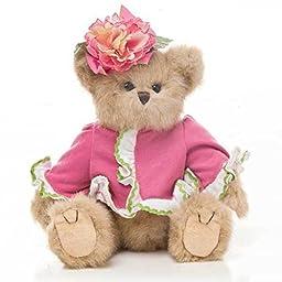 Plush Pink Flower Bear - Small