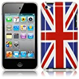 APPLE IPOD TOUCH 4TH GEN UNION JACK GLOSSY BACK COVER CASE / SKIN / SHELL PART OF THE QUBITS ACCESSORIES RANGEby TERRAPIN