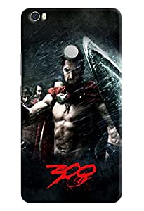 Omnam Spartans Chanting Ahu Of Movie 300 Printed Designer Back Cover Case For Xiaomi Mi Max