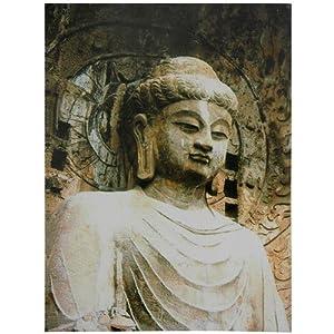Gautama Buddha Statue Canvas Wall Art