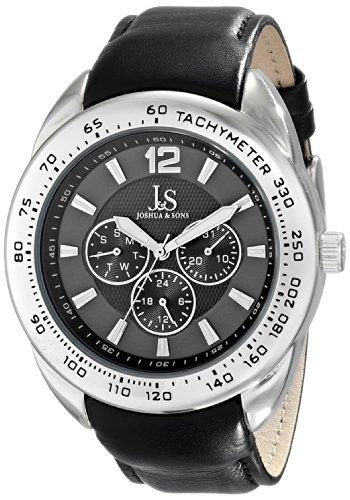 Joshua & Sons JS-45-GY - Reloj para hombres
