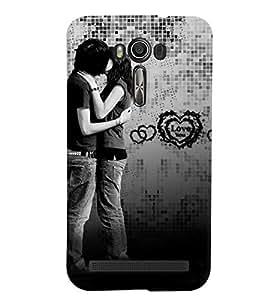 Fuson Love Case Cover for Asus Zenfone Laser2