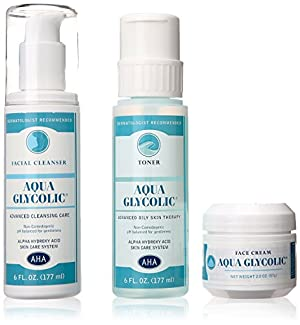 Aqua Glycolic Alpha Hydroxy Acid Skin Care System