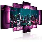 200x100 !!! Riesen-Format + Bilder XXL & Fertig Aufgespannt & Top Vlies Leiwand + 5 Teilig + Wand Bilder 051477 + 200x100 cm +++ B&D XXL + Riesen Bilder Kunstdruck Wandbild +++
