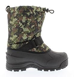Northside Frosty Winter Boot (Toddler/Little Kid/Big Kid),Camo Green,12 M US Little Kid