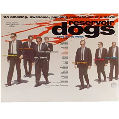 Reservoir Dogs Original Cinema Poster