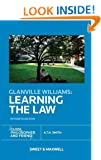 Glanville Williams: Learning the Law (Fifteenth Edition)