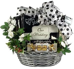 Wedding Gift Baskets Amazon : Amazon.com : Gift Basket Village Wedding Bells Gift Basket for ...