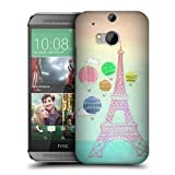 Head Case Designs Hot Air Balloons I Dream of Paris Protective Snap-on Hard Back Case Cover for HTC One M8