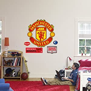 (38x38) Manchester United Crest Fathead Wall Decal