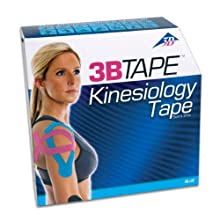 3B Scientific Blue Cotton Kinesiology Tape, Bulk Roll, 2&#034; Width x 101&#039; Length