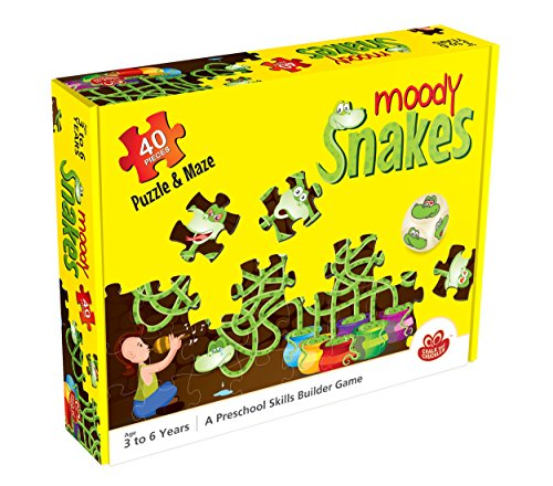 Chalk And Chuckles Moody Snakes, Multi Color