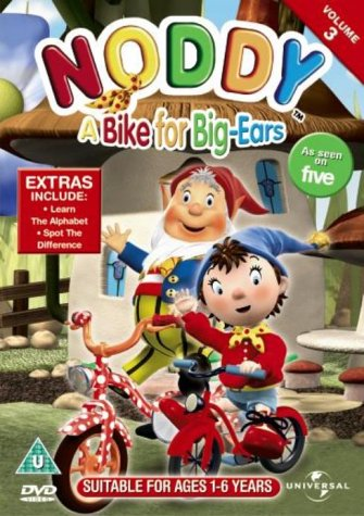 Noddy: A Bike For Big Ears [DVD]