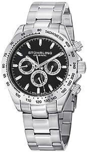 Stuhrling Original Men's 564.02 Concorse Raceway Stainless Steel Bracelet Watch