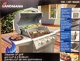 LANDMANN 3バーナー BBQグリル LPガス専用[屋外用]