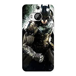 Stylish Knight Thrash Multicolor Back Case Cover for HTC One M9 Plus