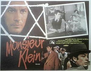 Alain Delon Joseph Losey MONSIEUR KLEIN lobby card- '76