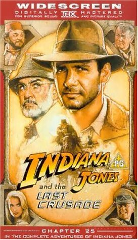 Indiana Jones And The Last Crusade (WS) [UK-Import] [VHS]