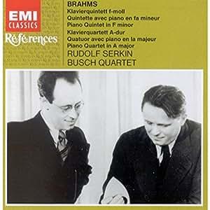 Brahms: Klavierquintett / Klavierquartet