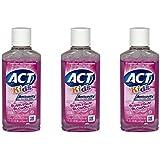 ACT Kids Anti-Cavity Fluoride Rinse, Bubblegum Blowout Travel Size 1 Oz (Pack Of 3)