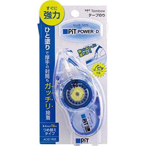 トンボ鉛筆 テープのり ピットパワーD PN-IP スタンダード