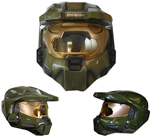 Deluxe Halo Master Chief Helmet Adult Costume Accessory