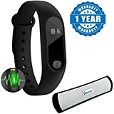 Byond Devices Compatible Certified Smart Band With Bluetooth/Heart Rate sensor/Sleep Monitoring/Pedometer with HiFi wireless Bluetooth B-13 Speaker (1 Year Warranty)
