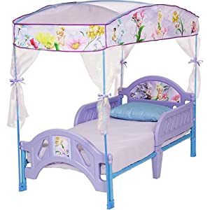 Disney Tinkerbell Fairies Toddler Bed with Canopy at Sears.com