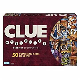 CLUE Mysteries board game!