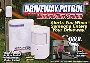 Driveway Patrol Sensor and Receiver Kit