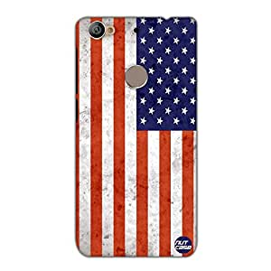 Designer Le Eco 1s Case Cover Nutcase-Vintage USA Flag