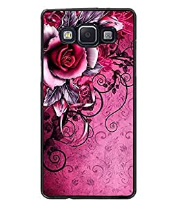 PrintDhaba Flower Bunch D-1159 Back Case Cover for SAMSUNG GALAXY A5 (Multi-Coloured)