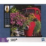 "Big Ben 500 Piece Truck & Flowers Jigsaw Puzzle (Assembled Size: 16"" x 16"")"
