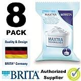 8 X Brita Maxtra Water Filter Refills Cartridges Pack Wf0400