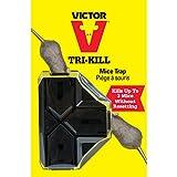 Victor Tri-Kill Mouse Trap, 1-Pack